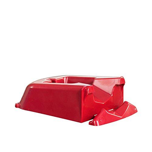 Börner Dockingstation für Slicer in rot Küchenutensilien Küchenhelfer Aufbewahrung Gemüsehobel Zubehör V-Hobel Einschübe