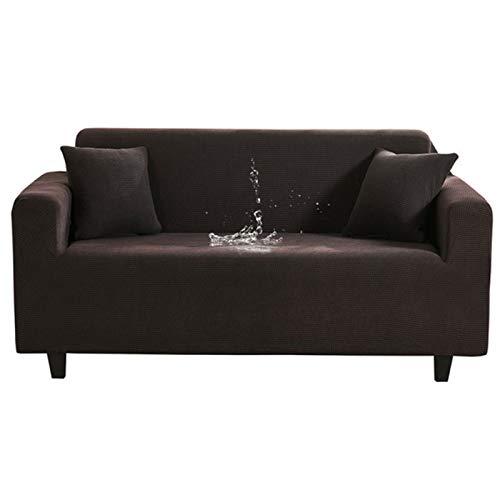 Elastische Sofabezug, wasserdichte Einfarbige Hochelastische SchutzhüLle, All-Inclusive Elastische Sofabezug, Wohnzimmer Sofabezug