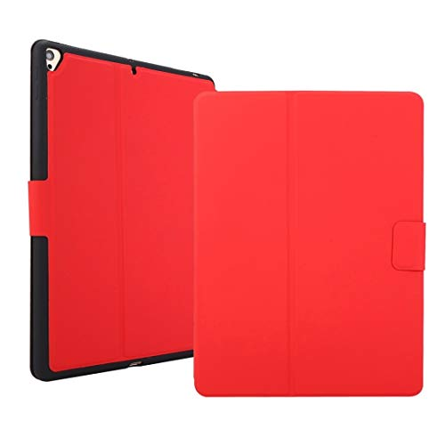 LESLEY LM For Electric Pressed Texture Horizontal Flip Leather Case with Holder & Pen Slot iPad 10.2 2020 & 2019 / Air 2019 / Pro 10.5 2021 NEW MODEL (Color : Red)