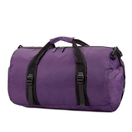 LUGJ Burglarproof Duffel Bag Outdoor reizen sporttas groot volume handtas ronde emmer waterdichte reistas basketbal tas voor gymzaal, sport, camping, opslag mode