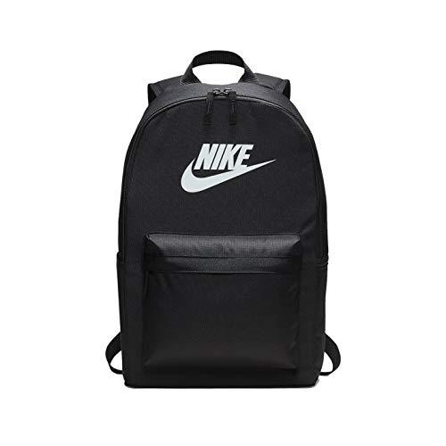 Nike Heritage 2.0 Rucksack Backpack (one size, black/white)