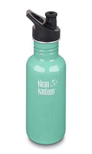 Klean Kanteen Classic Trinkflasche Sea Crest mit Sport Cap 3.0 532ml/18oz