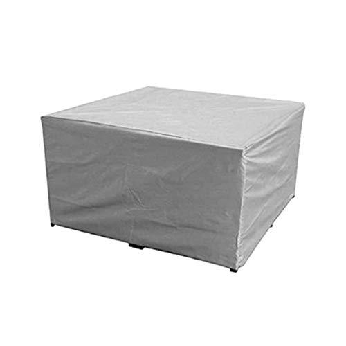 Yardwe coperture per mobili da Giardino per Esterni Set di mobili Resistenti per Esterni Resistenti copritavolo Quadrato e sedie (150 x 150 x 75 cm)