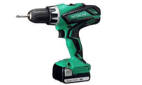 Hitachi DV14DJL–Akku-Schlagbohrmaschine 14,4V 2Li-Ion-Akkus 1,5Ah