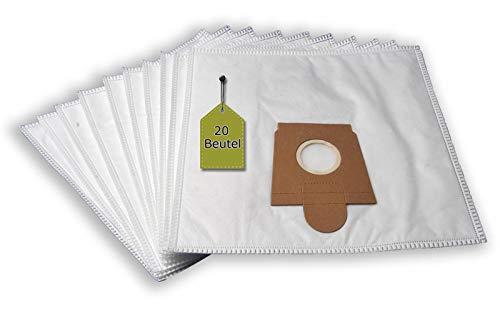 eVendix stofzuigerzakken geschikt voor Kaercher 6.904-329 | 20 stofzakken + 4 microfilters | vergelijkbaar met originele zakken: 6.904-239.0