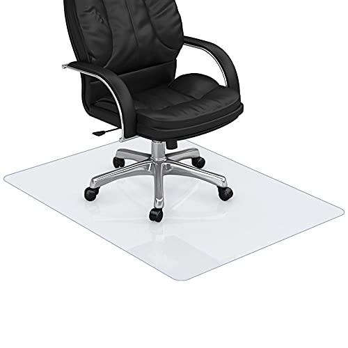 Estera de silla dura transparente para suelo de azulejos,Protector de piso cuadrado debajo de la silla para suelo de azulejos,Silla 35x35 Mar para alfombra para piso de azulejos