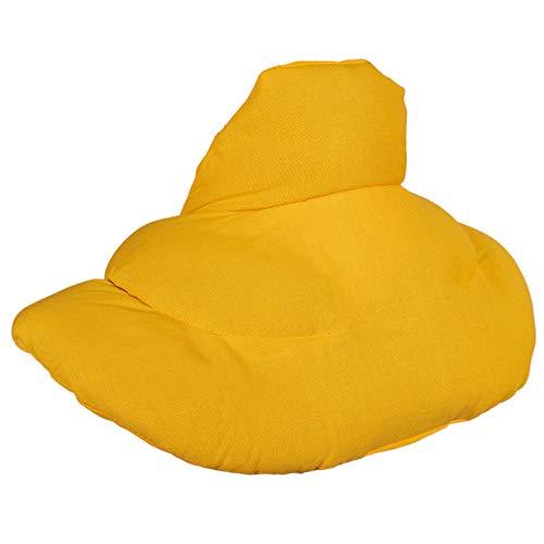 Cojín cervical térmico con cuello. Mango. Almohada térmica cervical con semillas de grosella. Saco caliente y frio con semillas. Cojín de nuca
