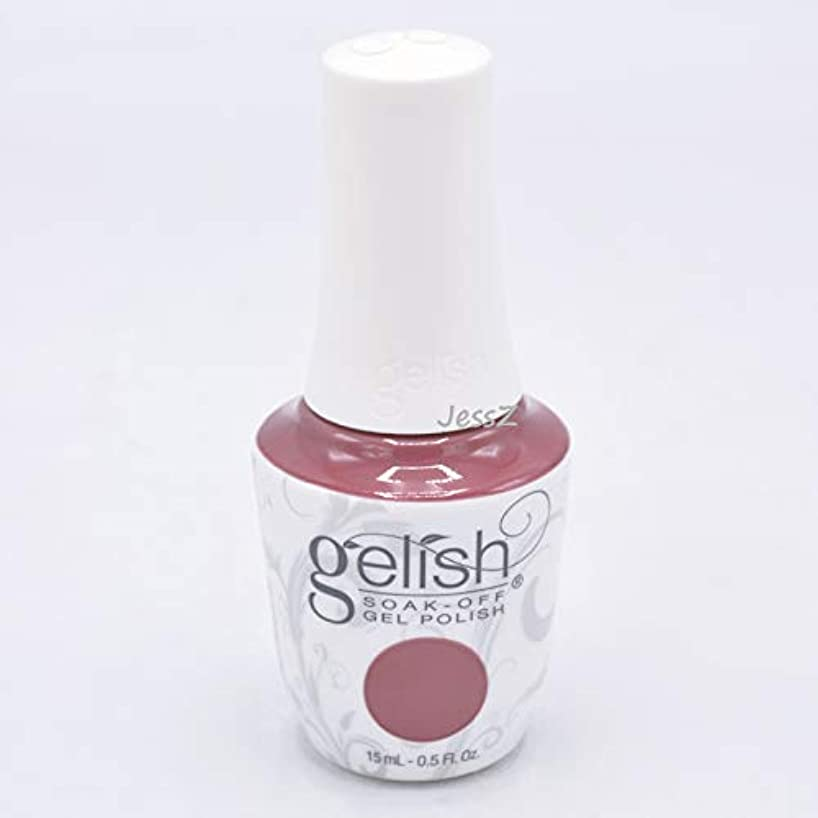 巨人石炭倍増Gelish Soak-Off Gel - African Safari Collection - No Sudden Mauves - 15 ml/05 oz