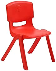 X IANGYU Durable And Wonderful Plastic Stacking Chair For Kids (RED, 28CM)