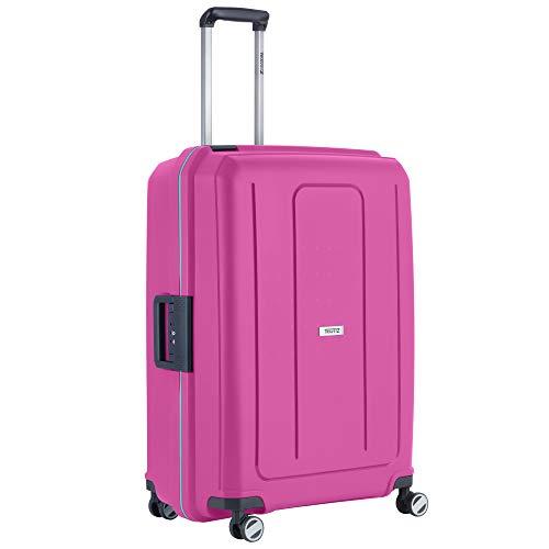TravelZ Loose Travel Suitcase - TSA 75 cm Hard Shell Large Suitcase - Three Point Lockers - Double Wheels