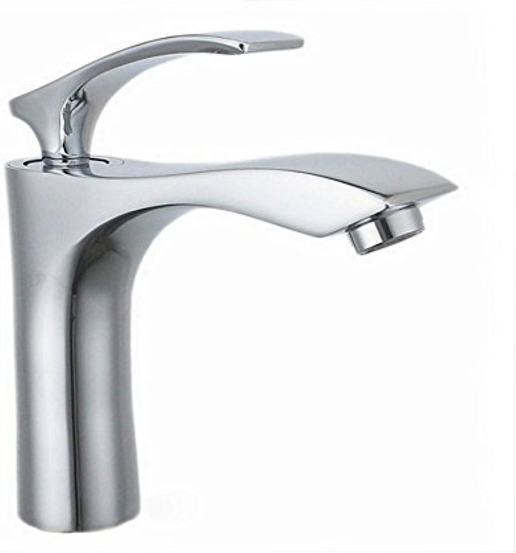 Aawang New Style Brass Deck Mount Bathroom Faucet Basin Vanity Vessel Sinks Mixer Tap