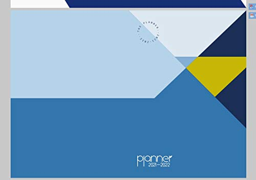 Agenda, Agenda Clásica Vista Semana 2021-2022, Agenda Escolar, A5, Tira Flexible y Papel Grueso, con Etiqueta, 16x21 cm