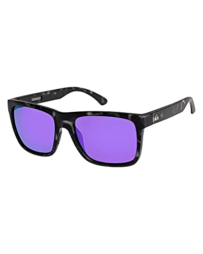 Z0OL0|#Quiksilver Charger - Occhiali Da Sole Da Uomo Occhiali Da Sole Da Uomo, Uomo, brown/black/purple - combo, 1SZ