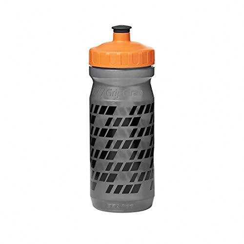 GripGrab Botella de agua para bicicleta, sin BPA, naranja, 800 ml