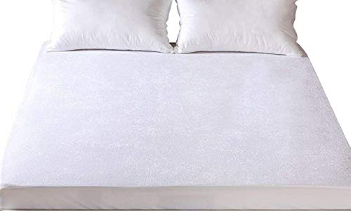 Single DE SUENOS New Waterproof Terry Towel Mattress Protector Fitted Sheet Bed Cover