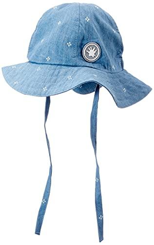 Sigikid Baby-Mädchen Sonnen-Hut aus Bio-Baumwolle für Kinder Sonnenhut, Blau/Chambray, 40 cm