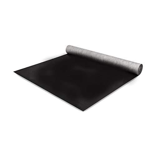 BMD 120g/m² Unterspannbahn schwarz Unterdeckbahn (1,5m x 25m) diffusionsoffen sd-wert: 0,02m, schlagregensicher, CE-Siegel, Dampfsperre