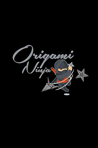 Origami Ninja: 6x9 Origami | lined | ruled paper | notebook | notes