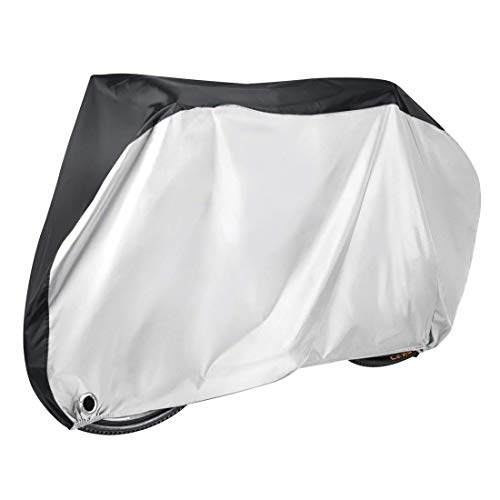 Irypulse Bike Cover Waterproof Dustproof Anti-UV Indoor Outdoor Bicycle Cover For Mountain and Road and Electric Bikes, 2 Sizes Fit All (Bike - XL)