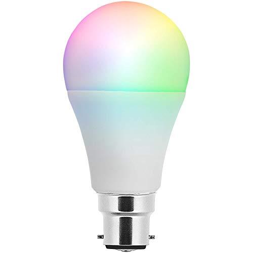 Smartwares SH8-92601 Bombillas Inteligentes B22 Pro Series – Luz de Colores Ajustable – Ampliación, 7 W, Adjustable Coloured Light