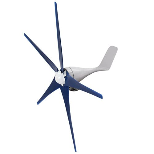 TUOKE Wind Turbine Generator Kit 800W with 5 Blade, Wind Generator Kit with Charge Controller, Power Generator for Marine, RV, Home, Windmill Generator Suit for Hybrid Solar Wind System (12V)