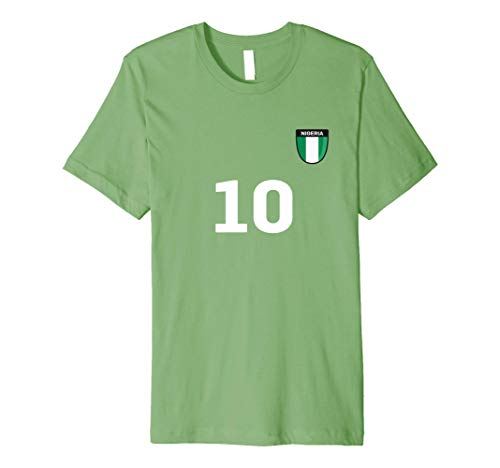 Nigeria Soccer Jersey World Football 2018 Fan