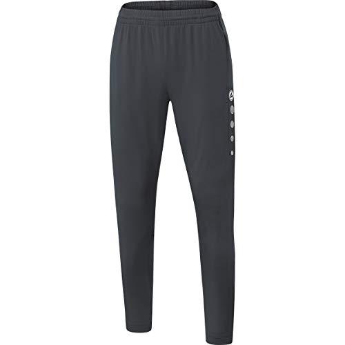 JAKO Pantalon D'entraînement pour Femme, Taille 38, Anthra Light