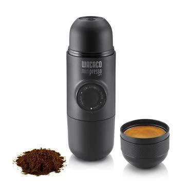 Wacaco Minipresso draagbare espressomachine, koffiezetapparaat, handmatig bediend, perfect voor onderweg