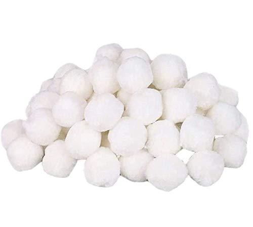 ZoneYan 800g Bolas de Filtro Piscina, sustituye a 29 kg de Arena de Cuarzo de Arena, Filtro de la Piscina, Filter Balls, Filtro de Piscina de Bolas de Limpieza, Respetuoso, Duradero
