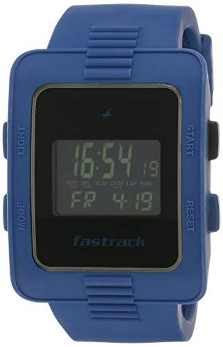 Fastrack Casual Digital Black Dial Men's Watch - 38009PP02J