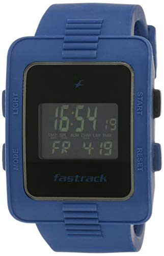 Fastrack Casual Digital Black Dial Men's Watch - 38009PP02J