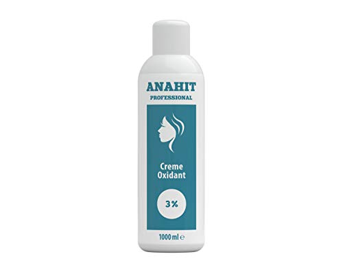 Anahit Professional Oxidante Creme Oxidant Entwickler 1000ml Oxide NEW BRAND 2020 Made in Germany Hochwertige Inhaltsstoffe Verwendet Wasserstoffperoxid Cream Oxydant (3% Prozent)