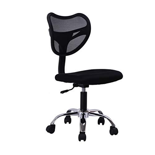 QIFFIY Silla de oficina ergonómica silla de ordenador hogar estudiante simple silla de oficina sin sillón c elevador silla de oficina silla de oficina silla de escritorio