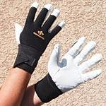 Impacto Ergonomic Anti-Vibration Air Glove with Wrist Support - Large