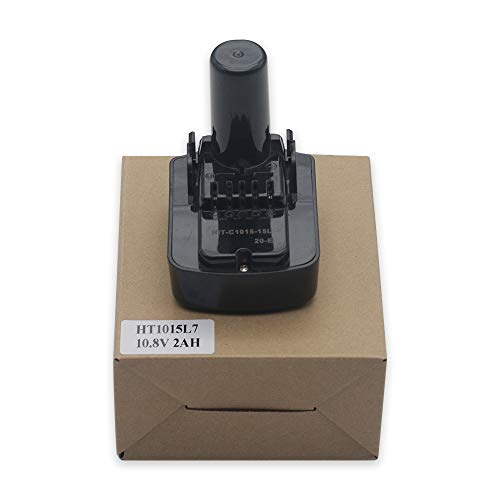 HSW 10.8V 2.0Ah Lithium-ion BCL1015 Replacement Battery for Hitachi 331065 BCL1015 BCL1015S 329369 329370 329371 329389 331065 Cordless Power Drill Tools Batteries