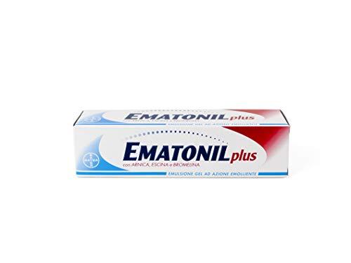 Ematonil Plus Emulsione Gel con Arnica, Bromelina, Escina, Azione Emolliente, 50 ml