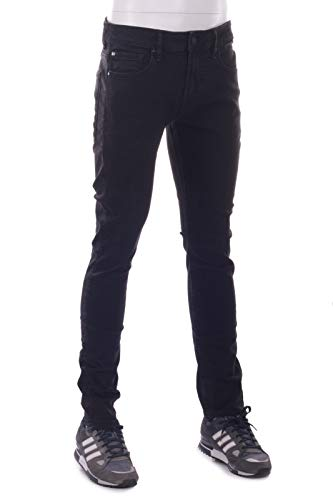 Guess Jeans Uomo Denim Super Skinny M74AN1 Nero Black (W32/L32)