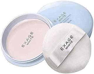 EXAGE White Conditioning Whitening Powder Albion Oil Control Flawless Good Night Powder Oil-control Moisturizing Makeup Powder, 18g