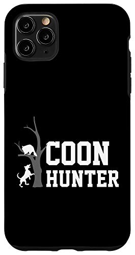 iPhone 11 Pro Max Coon Hunters Vinatage Raccoon Hunting Gear Gift For Dad Case