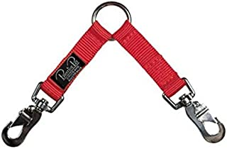 """Prestige Pet Products Two-Dog Coupler 3/4"""" X 48"""" (122cm), Red"""