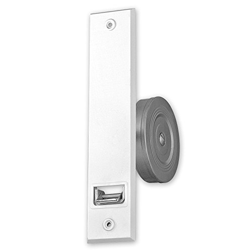 Getriebe-Einlass-Gurtwickler 'Giro XL', für Gurtbreite: 23 mm, Farbe: weiß, ohne Gurt, Lochabstand: 214 mm, Abmessungen: 248 x 160 x 54 mm, Gurtaufnahme: 12 m, von EVEROXX®