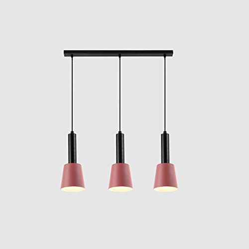 Towyoy New Nordic Style Creative Bedside Iron Chandelier Modern Minimalist Bedroom Porch 3 Heads Restaurant Bar Cafe Bar Bedroom Study Light Luxury Chandelier Interior Decoration Lighting