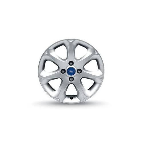 Fiesta 1515147 16-inch 7-Spoke Single Alloy Wheel for 2008 Onwards - Silver