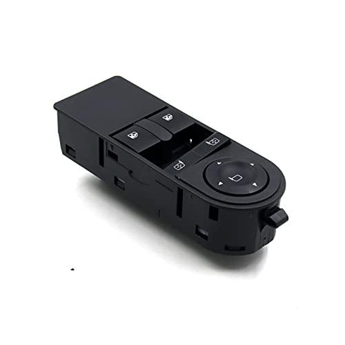 EMEI Nuevo Interruptor de Control de la Ventana eléctrica Adecuado para Opel Astra H Ajuste para Vauxhall Astra MK Control DE LA Venta DE LA Venta DE LA Venta DE LA Venta DE LA Ventana