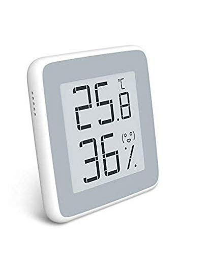 Homidy Hygrometer Digital Thermometer Innen,E-Ink HD display Digital Thermo-Hygrometer innen Feuchtigmesser
