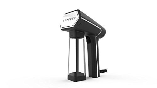 SteamOne 衣類スチーマー S-Nomad SN506SB ブラック 軽量/パワフルスチーム/容量140ml/ペットボトルで連続使用可能【国内正規品】