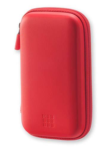 Etui rigide de voyage - Petit format - Rouge écarlate