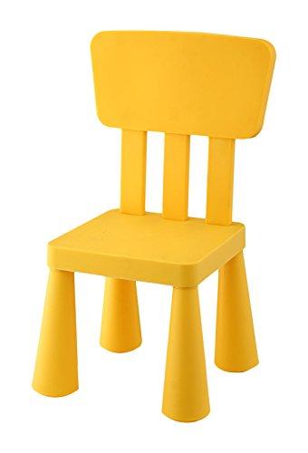 Silla infantil amarilla