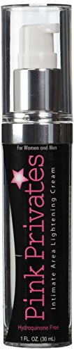 Body Action Pink Privates Lightening Cream, (PP0) Assorted, 1 Fl Oz (Pack of 1)
