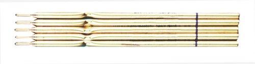20 (4x 5) Kugelschreiber Minen Messingminen 1,0mm schwarz